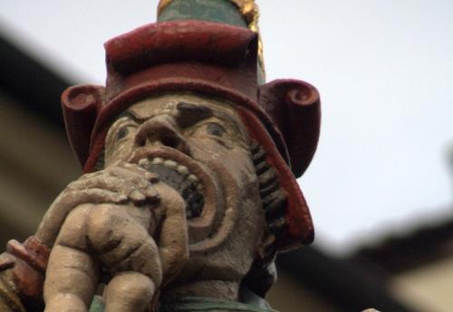 Fuente del Ogro o Kindlifresserbrunnen en Berna