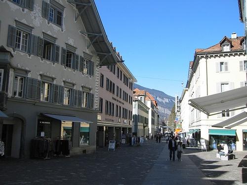 Poststrasse en Chur