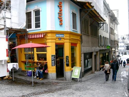 Niederdorfstrasse en Zurich
