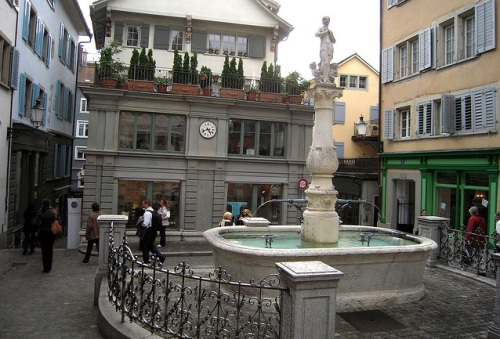 Spiegelgasse en Zurich