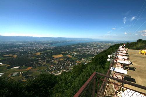 Le Saléve, vistas sobre Ginebra