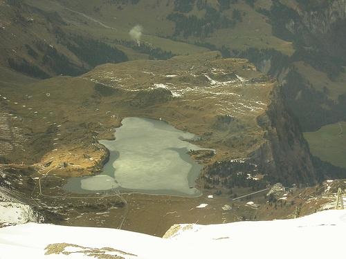 Las colinas en los alrededores de Engelberg