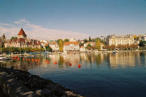 Ouchy, el resort mas chic de Suiza