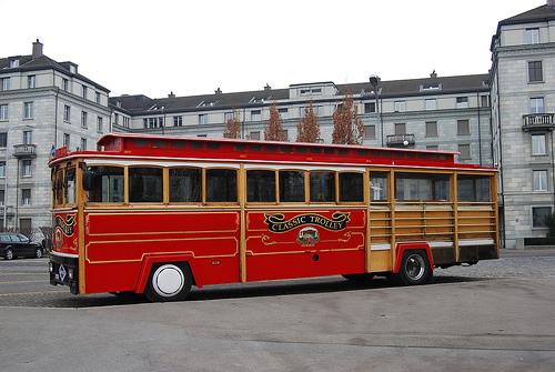 classic trolley zurich