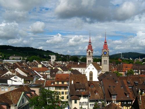 Arquitectura en Winterthur