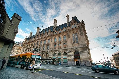 Plaza de St Francois en Lausanne