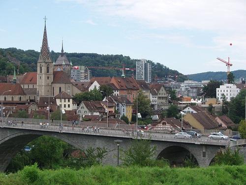 Vista de Baden