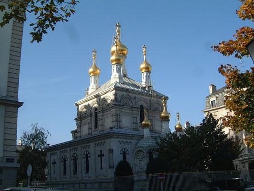 La Iglesia Rusa de Ginebra