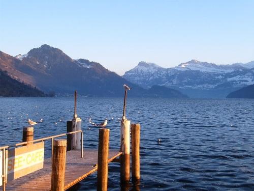 Lago Lucerna visto desde Weggis