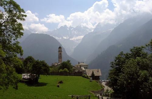 Soglio, un paseo desde St. Moritz