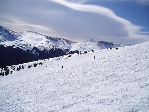 Parsenn y las pistas entre Davos y Klosters