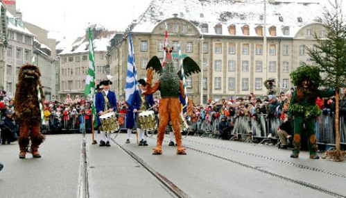 El carnaval de Pequeña Basilea