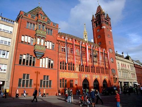 Tours por el Ayuntamiento de Basilea