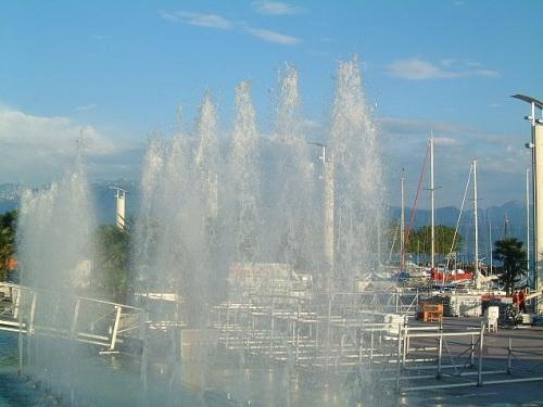 Plaza de la navegacion en Lausana