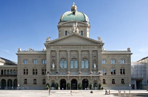 Palacio Federal de Suiza en Berna