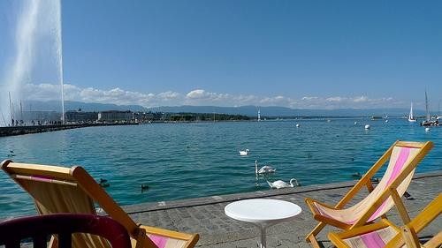 Verano en Ginebra, clima y actividades