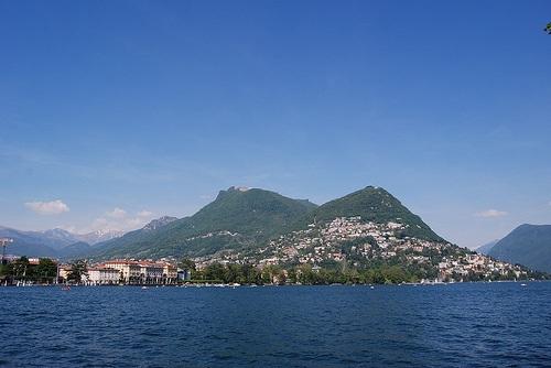 Bre y el lago Lugano
