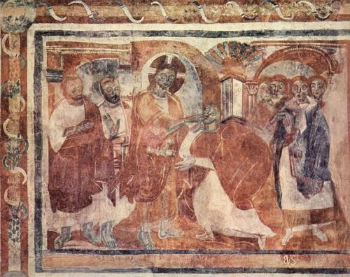 Los frescos carolingios del Convento de San Juan