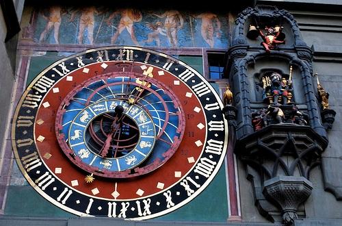 El reloj de Zytglogge, en Berna