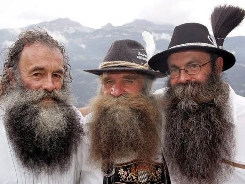 Concurso de barbas en Chur