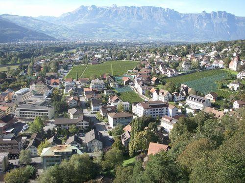 Viajando de Zurich a Vaduz