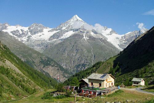 Täsch, un pueblo en Zermatt que habla portugués