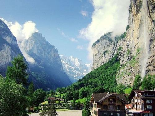 Paisajes inolvidables en Lauterbrunnen